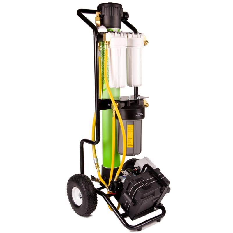 HydroCart Ultra Pure Water Cleaning System